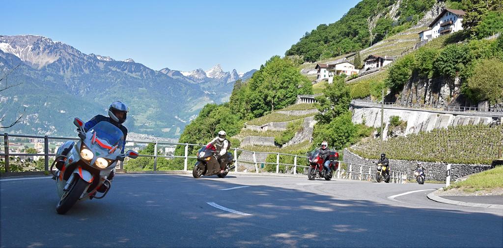 Optimiser ses trajectoires en moto