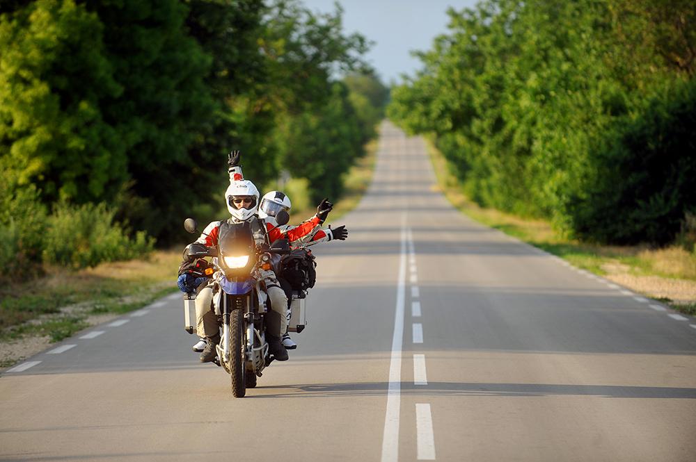 Se préparer pour un voyage à moto