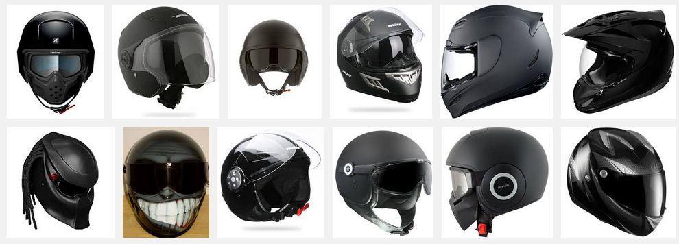 Les différents types de casque moto